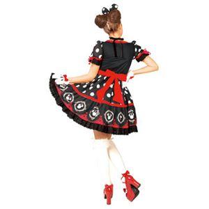 RUBIE'S(ルービーズ) 95073 Gothic Costume Adult Minnie Black ゴシックミニー ブラック Stdサイズ