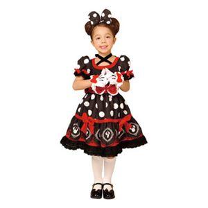 RUBIE'S(ルービーズ) 95076M Gothic Costume Child Minnie Black M ゴシックミニー ブラック