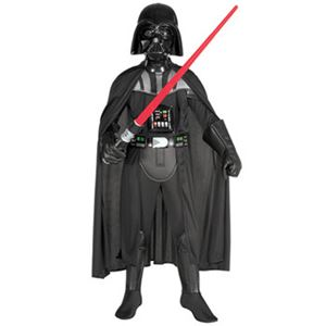 Child Deluxe Darth Vader Costume S ダースベイダー (子供用S)