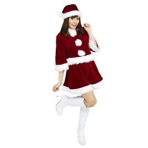 【クリスマスコスプレ】Patymo ポップサンタコスチューム(レディースサンタコスチューム)