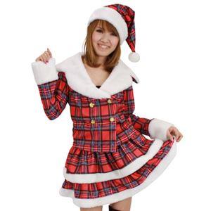 【クリスマスコスプレ】ドリーミングサンタ(チェック)