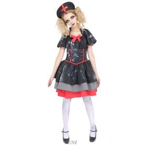 【コスプレ】DEath of Doll Crazy Black Nurse(クレイジーブラックナース)