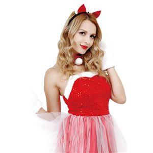 【クリスマスコスプレ 衣装】CLUB QUEEN Cat Lady Santa(キャットレディサンタ)