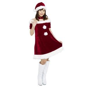 【クリスマスコスプレ 衣装】Patymo ラブリーサンタ(レディースサンタコスチューム)