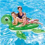 """カメのフロート 浮き輪 55""""x55"""" Turtle Ride-Onの詳細ページへ"""