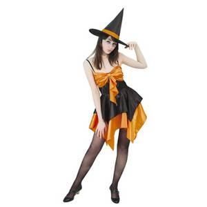 RUBIE'S (ルービーズ) オレンジドレッシーウィッチ Orange Dressy Witch Stdサイズ