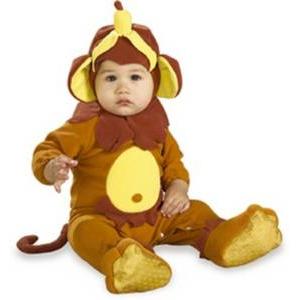 【コスプレ】 RUBIE'S (ルービーズ) Monkey See、Monkey Do(モンキー シー、モンキー ドゥー) Infサイズ