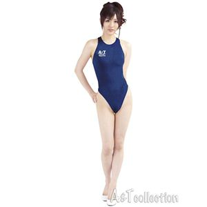 薄々競泳水着ネイビー
