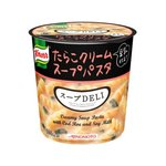 【まとめ買い】味の素 クノール スープDELI たらこクリームスープパスタ(豆乳仕立て) 44.7g×18カップ(6カップ×3ケース)の詳細ページへ