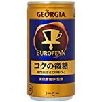 【まとめ買い】コカ・コーラ ジョージア ヨーロピアン コクの微糖 缶 185g×60本(30本×2ケース)の詳細ページへ