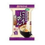 【まとめ買い】アマノフーズ にゅうめん とろみ醤油 14g(フリーズドライ) 4個