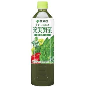 【まとめ買い】伊藤園 充実野菜 緑の野菜ミックス PET 930g×12本(1ケース)