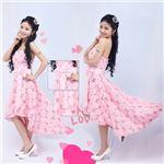ホルターネック黒レースロングドレス【LFYW160】dress