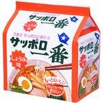 サッポロ一番 しょうゆラーメン 5個パック×6P【1ケース・30食】