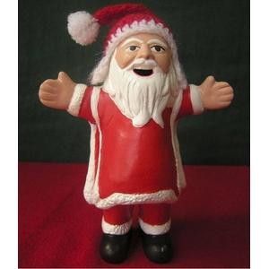 【エケコ人形15cm】サンタクロース(SANTA CLAUS)VIVASスペシャル・バージョン(ペルー直輸入)