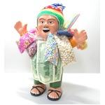 【特大エケコ人形35cm】ペルー製「現品・限定」ビッグサイズのエケコ人形です。商売繁盛の福 の詳細ページへ