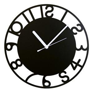 壁掛け時計 鋼の匠 アールデコ 黒