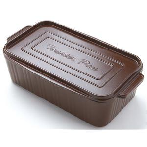 アーネスト 葛恵子のトースタークッキング専用 トースターパン ブラウン 76010