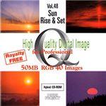 イメージギャップ High Quality Digital Image for Professional Vol.48 Sun Rise & Set MUUS048