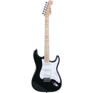 Photogenic エレキギター ブラック ST-180M