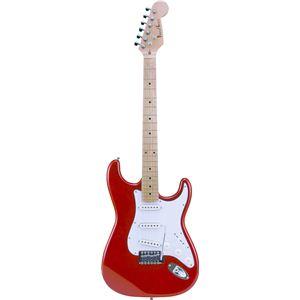 Photogenic エレキギター メタリックレッド ST-180M