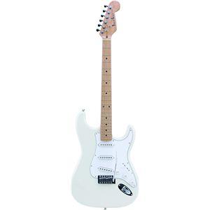 Photogenic エレキギター ホワイト ST-180M