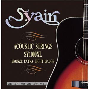 アコースティックギター弦 エクストラライトゲージ SY1000XL