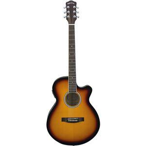 Sepia Crue エレクトリックアコースティックギター Vintage Sunburst EAW-200 VS