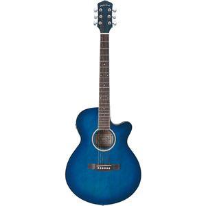 Sepia Crue エレクトリックアコースティックギター Blue Sunburst EAW-200 BLS