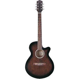 Sepia Crue エレクトリックアコースティックギター Black Sunburst EAW-200 BKS
