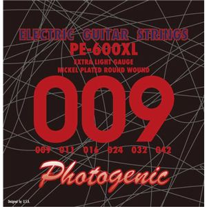エレキギター弦 エクストラライトゲージ PE600XL