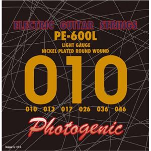 エレキギター弦 ライトゲージ PE600L