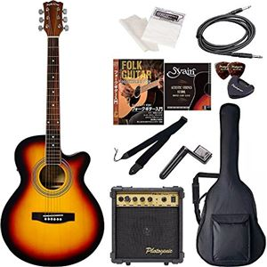 Sepia Crue  エレクトリックアコースティックギター エントリーセット EAW-01/VS ヴィンテージサンバースト