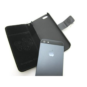 iPhone5★CHANEL STYLE★シャネルのマトラッセモチーフのケース!! 輝くカメリアのデコパーツがゴージャス!! 【CHANEL】全2色 ブラック