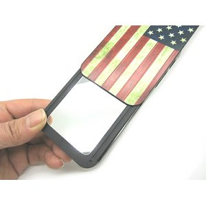 iPhone5★Mirror In Case★ケースをスライドさせれば、ミラーが出てくるケース!!【全6デザイン】