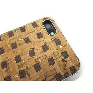 iPhone5★コルクを使用した今までにない斬新なデザインのiPhone5ケース!!【全3色】 ブラウン