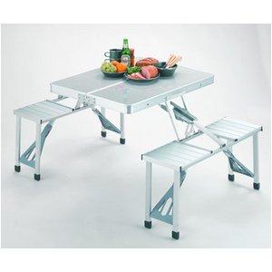 キャプテンスタッグ グランツ DXアルミピクニックテーブル M-3724