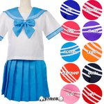 新色追加!10色のビタミンカラー☆セーラー服★10color♪【コスプレ/制服】ピーチMサイズ