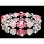 ピンク彫四神水晶10ミリ×ローズクォーツ8ミリ×アクアオーラ(化粧箱付)の詳細ページへ