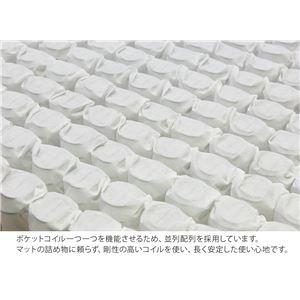 日本製 ポケットコイルマットレス PKJ-55HB 厚み19cm 並列配列 シングルサイズ