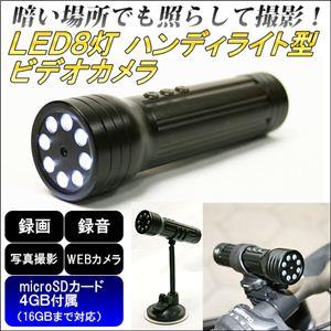 ハンディライト型ビデオカメラJVE-3308C4G