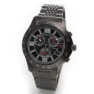 Gucci(グッチ) 腕時計 クラシック・クロノグラフ メンズ・ブレスウオッチ YA126217