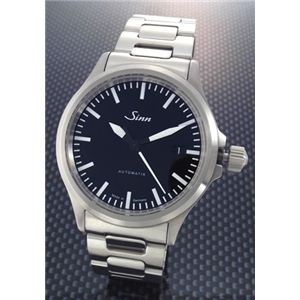 【2009年NEWモデル】ジン 腕時計 日本未発売モデル ミリタリー メンズ ウオッチ 自動巻き SSブレス 556.ST