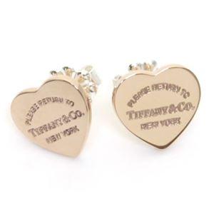 Tiffany(ティファニー) RTT ミニ ハートピアス RUBEDO 30885376