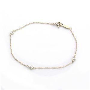 Tiffany(ティファニー) ダイヤモンド バイ ザ ヤード ブレスレット 7in 18Y 10769019