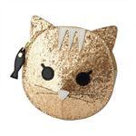 FURLA (フルラ) 856564 PR95 S30 COLOR GOLD 魚チャーム付 猫モチーフ コインケース 小銭入れ ALLEGRA COIN CASE CATの詳細ページへ