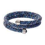SWAROVSKI (スワロフスキー) 5255903 Crystaldust Double Blue クリスタルロック スパイラル バングル ブレスレット Sサイズの詳細ページへ