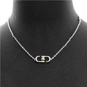 MARC JACOBS (マークジェイコブス) M0010427-969 Silver Multi 「J」ロゴモチーフ アイコン ペンダント ネックレス Icon Short Pendant