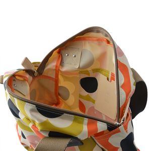 Orla Kiely (オーラカイリー) 17SELBM092 Multi ショルダー・ハンドバッグ LOVE BIRDS PRINT Zip Handbag