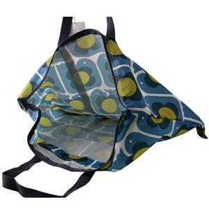 Orla Kiely (オーラカイリー) 17SELBR160 Marine トラベル ショルダーバッグ 旅行かばん LOVE BIRDS PRINT Foldaway Travel Bag